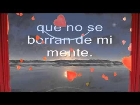 Musica romantica (con frases de amor) - En mi sueño te ? - YouTube