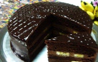 Neodolatelný čokoládový dort