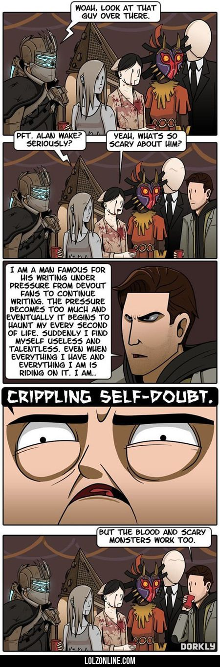 The Scariest Video Game Character#funny #lol #lolzonline