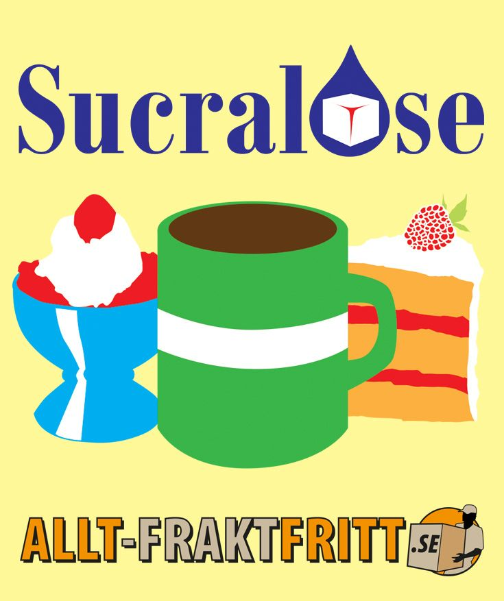 Helt ny Sucralose flytande - direkt från tillverkaren. Sucralose är ett kalorifritt sötningsmedel som är tillverkat av socker. Till skillnad från socker så kan kroppen inte ta upp Sucralose.