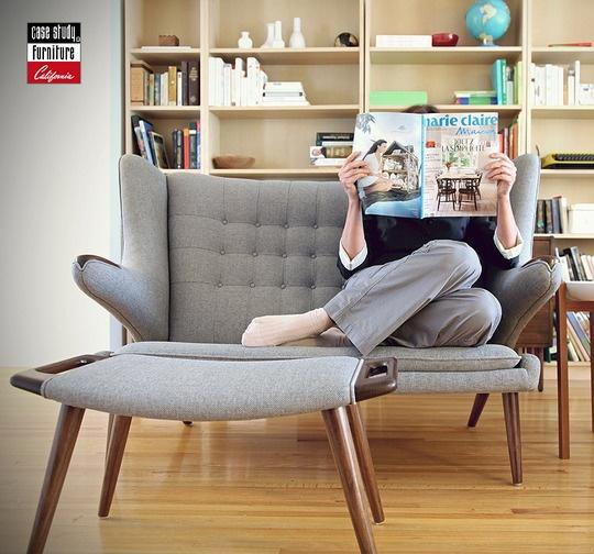 Case Study Furniture, California. Pinned by Secret Design Studio, Melbourne.  www.secretdesignstudio.com