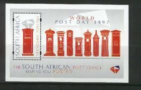 post office themed stamp