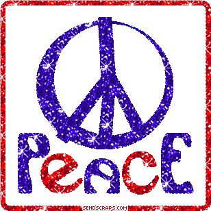 Peace Symbol - RWB Gif
