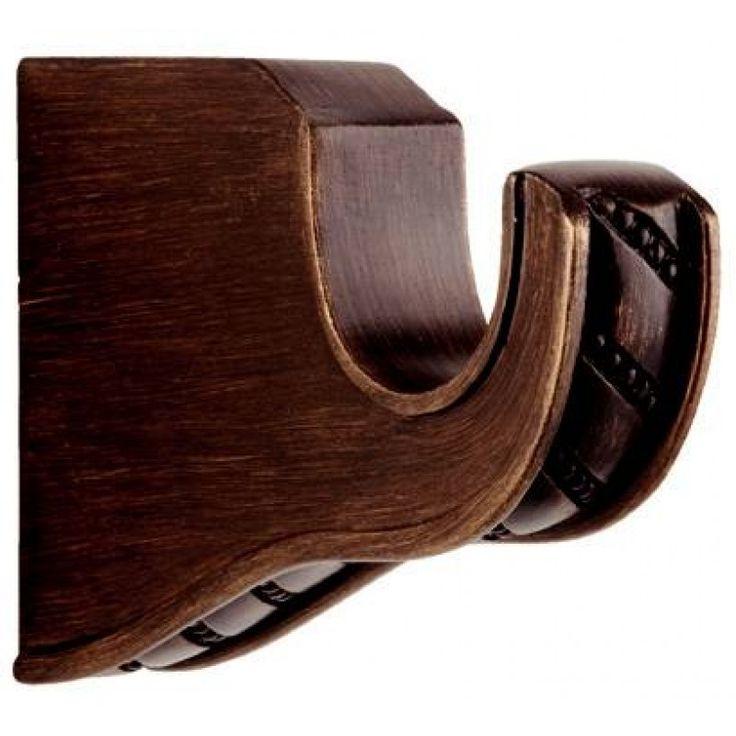 """Paris Texas  1 3/8"""" William 3"""" Single Bracket.Beautiful drapery hardware items ."""