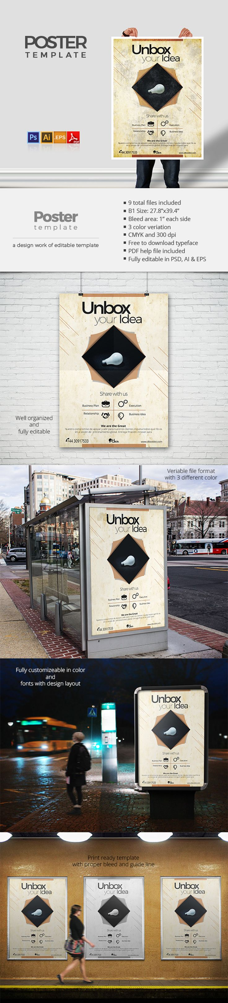 A high quality design work for professionals. This Poster Template has been developed to boost your Ultimate Marketing Opportunity and brand awareness for large and small organization, with well studied and effective marketing content.