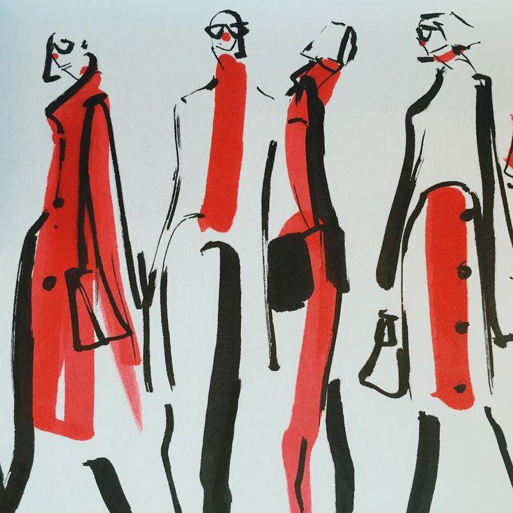 Jeanette Getrost fashion illustration