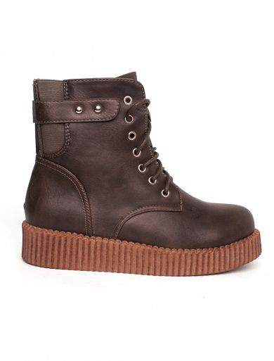 "Ghete ""Straighht Forward"" Brown. Pret 64.90 lei"