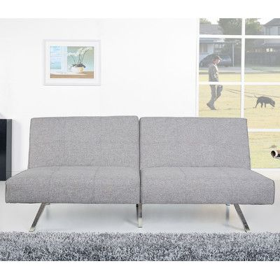 Varick Gallery Rosehill Ash Convertible Sofa & Reviews | Wayfair