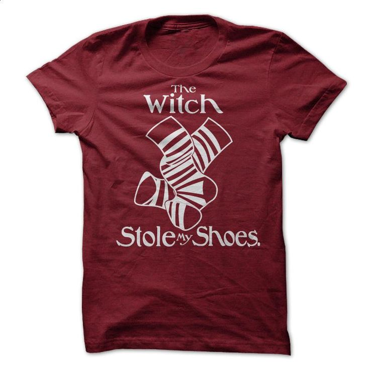 The Witch Stole My Shoes T Shirts, Hoodies, Sweatshirts - #vintage shirts #black hoodie womens. ORDER NOW => https://www.sunfrog.com/Movies/wizard-of-oz-parody-shirt.html?60505