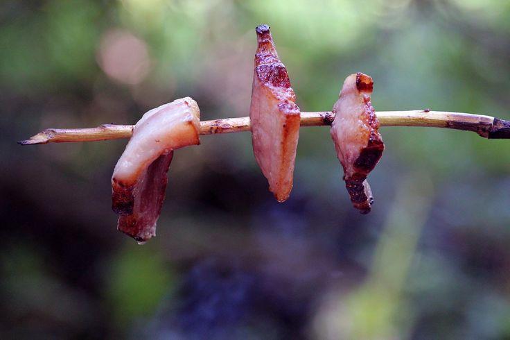 Opekaniu slaniny nad ohňom sa radšej úplne vyhni. Nielen kvôli HCA a PAH, ale aj kvôli nitrozamínom