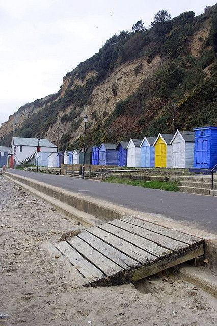 Sandown Beach Huts, Isle of Wight, England