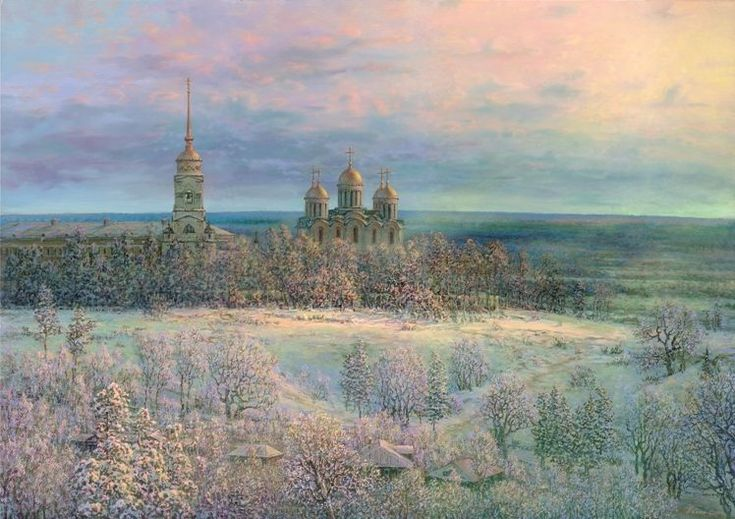 Russian expanses: Beauteous painting by the artist Sergey Panin - 25