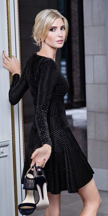 Ivanka Trump Fall 2015 Love her fancy outfit! pinterest:  katepisors