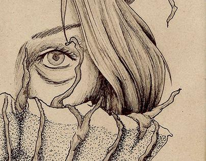 """Check out new work on my @Behance portfolio: """"Schreit"""" http://be.net/gallery/60803503/Schreit"""