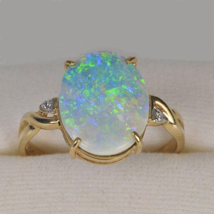 Opal jewelry - so pretty, glad opal is my birthstone