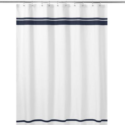 Buy Sweet Jojo Designs 72 Inch X Hotel Shower Curtain In White