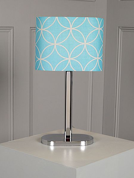 This Ronnie table lamp by Christiane Lemieux from @Allison House of Fraser  is fabulously summery - bring a bit of the ocean into the bedroom! #houseoffraser