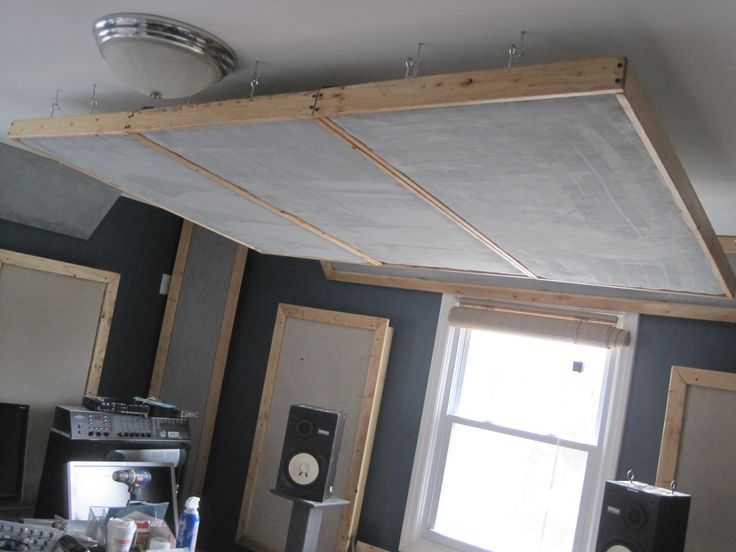 Monitor placement madness gearslutz pro audio community for Diy clouds ceiling