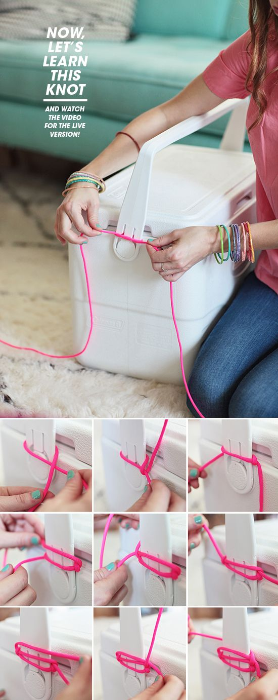 summer cooler DIY | designlovefest #summerup