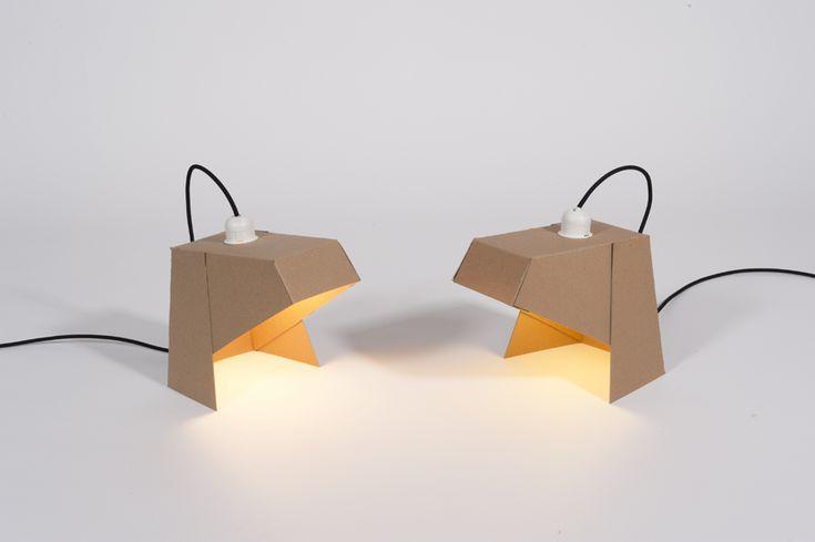 MyLamp, un concept de lampe en carton qui intègre l'utilisateur dans le processus de conception.
