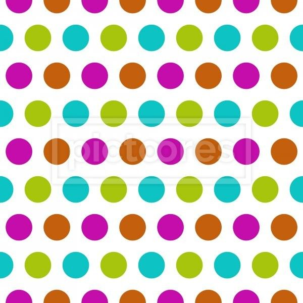 seamless pattern with colorful dots