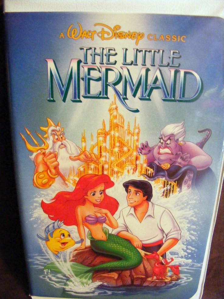Original Little Mermaid Vhs   Mermaid Madness  Walt -1000