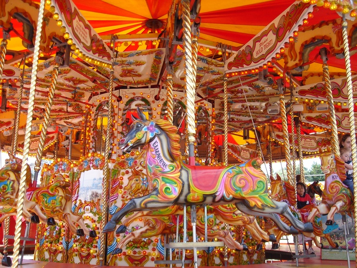 Carousel - Bournemouth, UK Carrousel,  Merry-Go-Round,  Whirligig,  Roundabout, Thomas Hardy, Nature Beautiful, Outstanding Nature