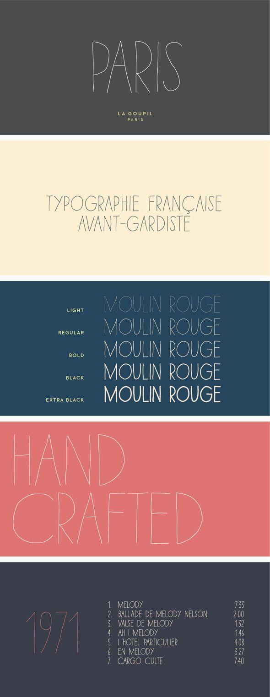 Paris Font Pack #type #letter Download: http://graphicriver.net/item/paris-font-pack/12044218?ref=ksioks