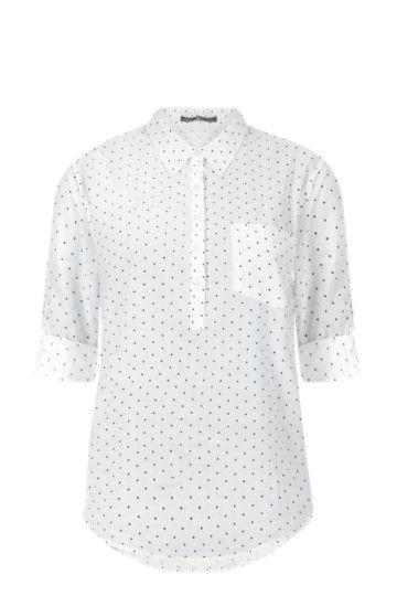 Spot Henley Shirt