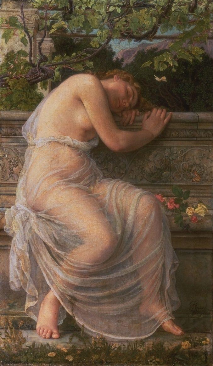 Corbet Edith ~The Sleeping Girl