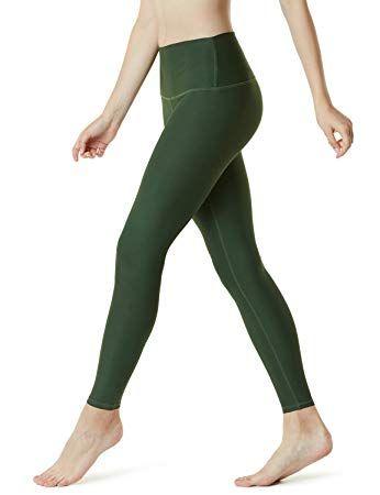 2354e8fafe868 Amazon.com: TSLA Yoga Pants High-Waist Tummy Control w Hidden Pocket FYP52  / FYP54 / FYP56 / FYP42: Sports & Outdoors
