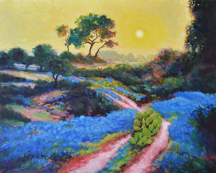 texas landscape paintings