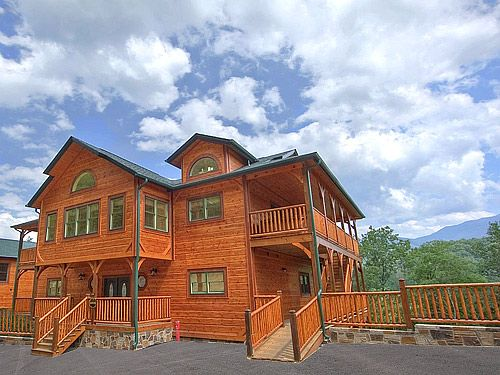 Pigeon Forge Cabin Parkview Mansion 9 Bedroom My