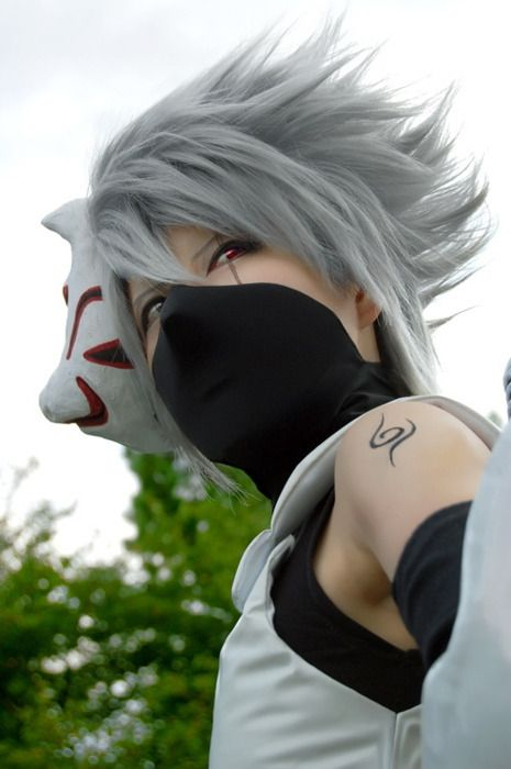 Kakashi cosplayer. Someone who did NOT fail epically at doing a cosplay.