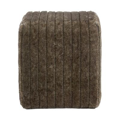 Worldwide Home Furnishings 402-200 !nspire Faux Fur Ottoman
