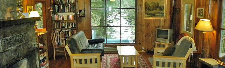 Secluded Cabin Rental | Riverfront Vacation Lodging | WA State