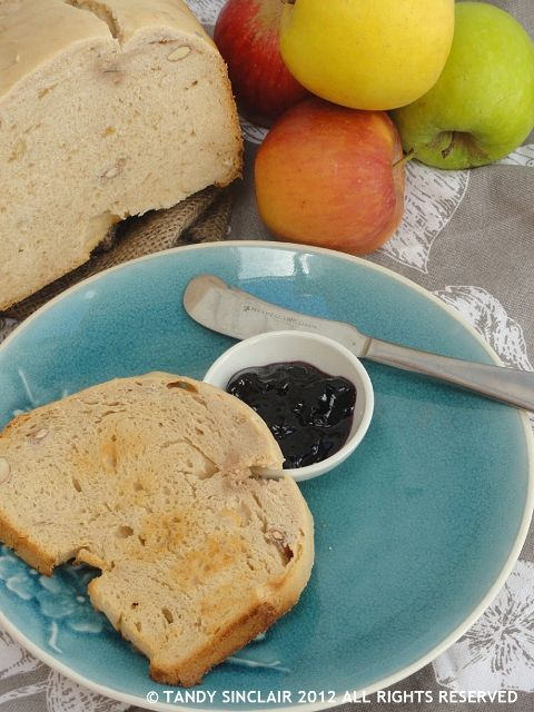 I have been experimenting using my bread maker to make jam – with some success. I had been given a selection of apples by Sam and not wanting them to go to waste I decided to make apple jelly.