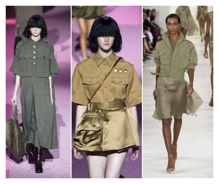 Styl militarny w wersji glamour, to będzie hit nadchodzącego sezonu. Do wojskowej garderoby, dodaj drobne błyskotki, kolorowe kamienie i bądź fashion. http://bit.ly/1EPiKXE