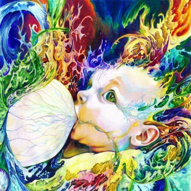 Breast Feeding  painting
