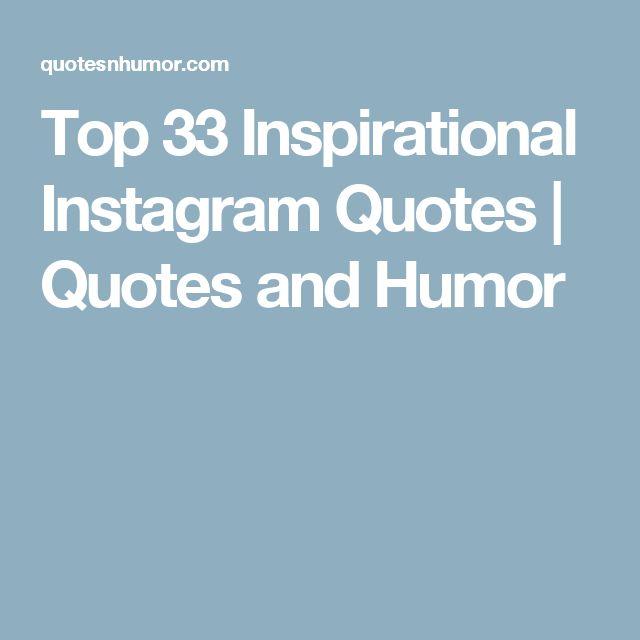 Best 25+ Inspirational Instagram Quotes Ideas On Pinterest