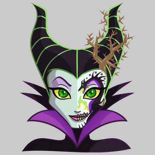 Sugar Skulls - Maleficent