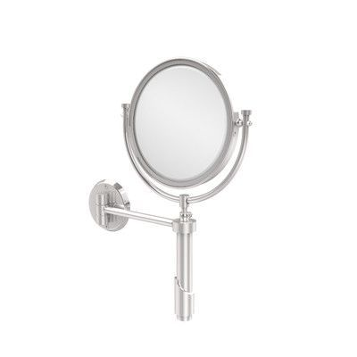 Allied Brass Universal Extendable Mirror Magnification: 2x, Finish: Polished Chrome