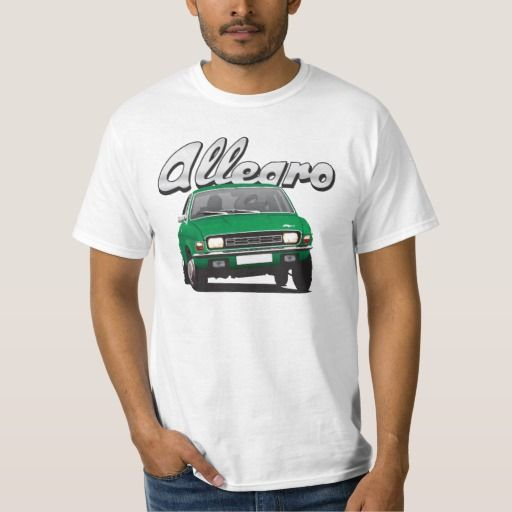 Austin Allegro UK DIY green  #austinallegro #allegro #austin #leyland #british #uk #automobile #car #tshirt #print #illtustration #zazzle #70s #classic #green
