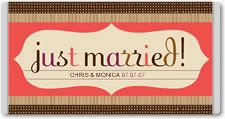 Chocolate bar wrappers templates for your wedding, by Rachael Ray