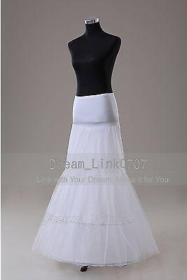 451a27c14449 Slips Petticoats and Hoops 98745: White 2 Hoop Fishtail Mermaid Wedding  Dress Promo Crinoline Petticoat