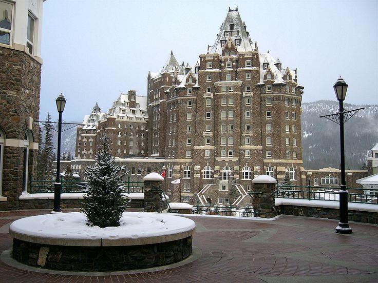 Banff Springs Hotel in Banff, Alberta, Canada