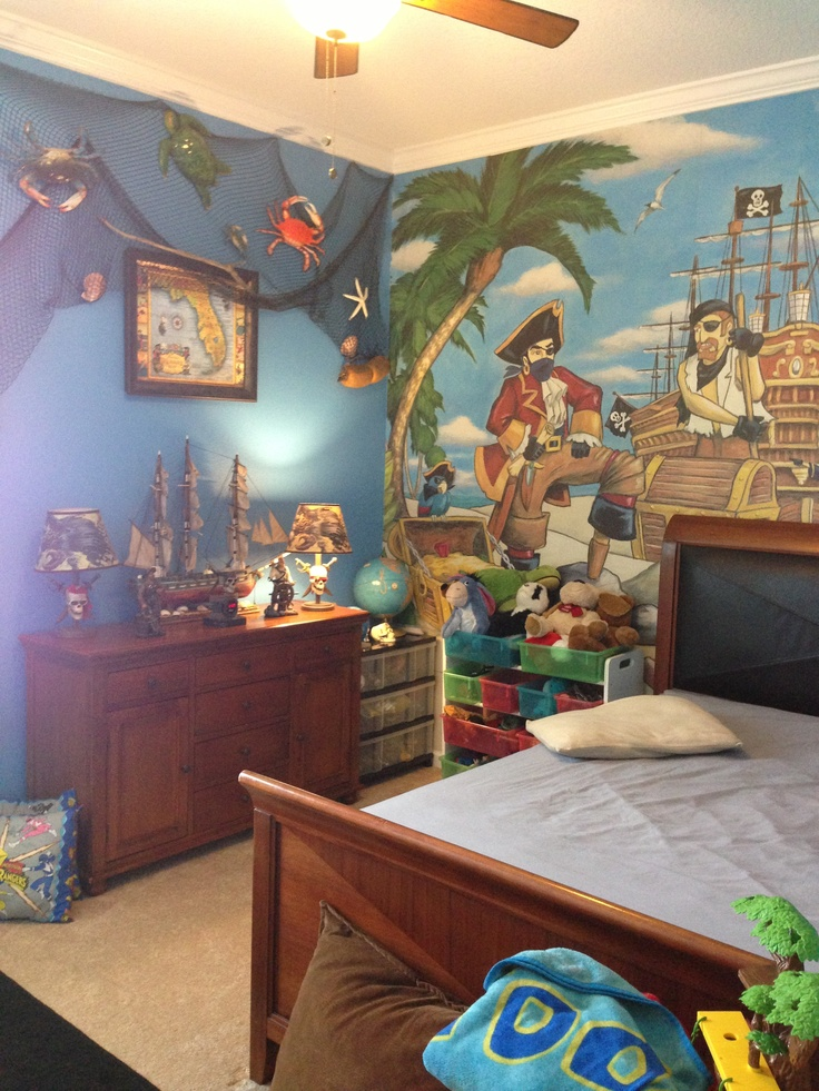 134 best treasure map kids room ideas images on pinterest for Kids pirate room