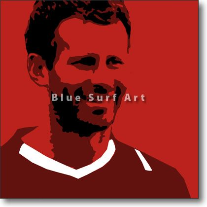 Giggs in Oil Painting on Canvas Price: from £59.99 Size: Various Sizes Available Medium: Oil Painting on Canvas Type: Original - Paint to Order Custom Colours: Available Delivery Time: 7-10 days Item #: POP-SPORT-0019