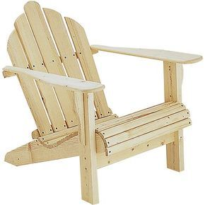 Adirondack Chair Plans   Grizzly Industrial