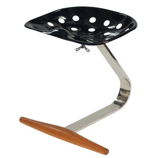 """950: Achille and Pier Castiglioni """"Mezzadro"""" stool"""